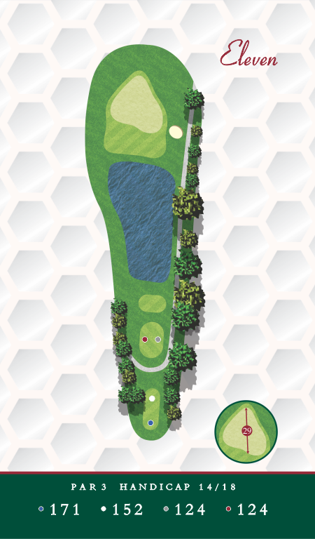 Course Map Chesapeake Golf Club Hole 11